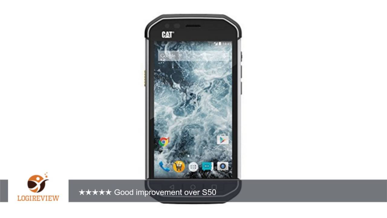 Caterpillar Cat S40 Black Rugged Waterproof IP68 Certified .