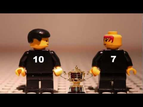 2011 Lego Rugby World Cup  The video that predicted it!