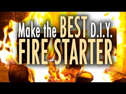 How to make the BEST Fire Starter. Super Simple!
