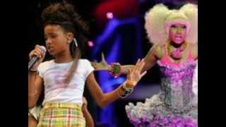 Repeat youtube video Willow smith ft. NIki Minaj (whip my hair back and forth) remix