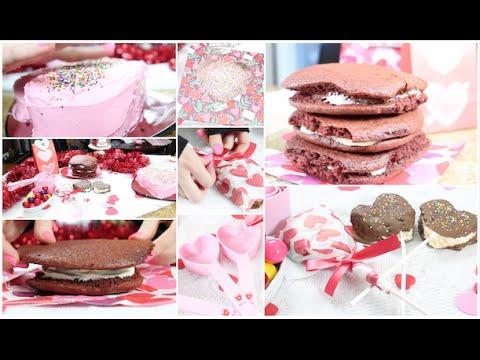 Diy: Valentine\'s Day Treats & Gift Ideas ♡ Easy & Tasty! - YouTube