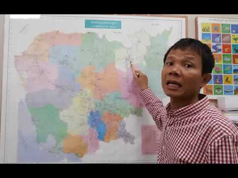 Learning Khmer how to pronounce provinces in Cambodia