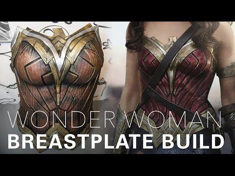 Wonder Woman cosplay breastplate tutorial by Gladzy