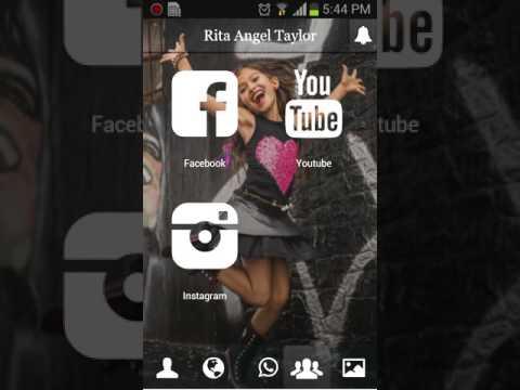 Criação do app para Rita Angel