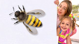 Download lagu Maya plays and turns the little ones into big ones | Kids Song by Maya and Mary