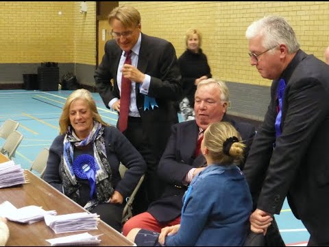 Broxbourne Parliamentary and Borough Election Results declared 8th May 2015