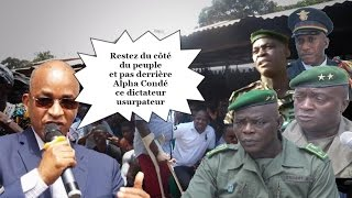Cellou Dalein Diallo lance un appel à l
