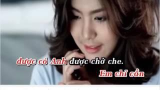 Chúc Em Ngủ Ngon [Karaoke] Thiếu Giọng Nữ