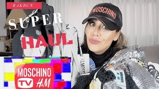 Super Haul Moschino by H&M