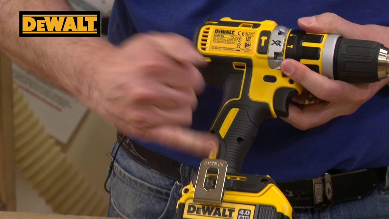 Dewalt 18v Brushless Xr Li Ion Combi Drill With Usb Charger