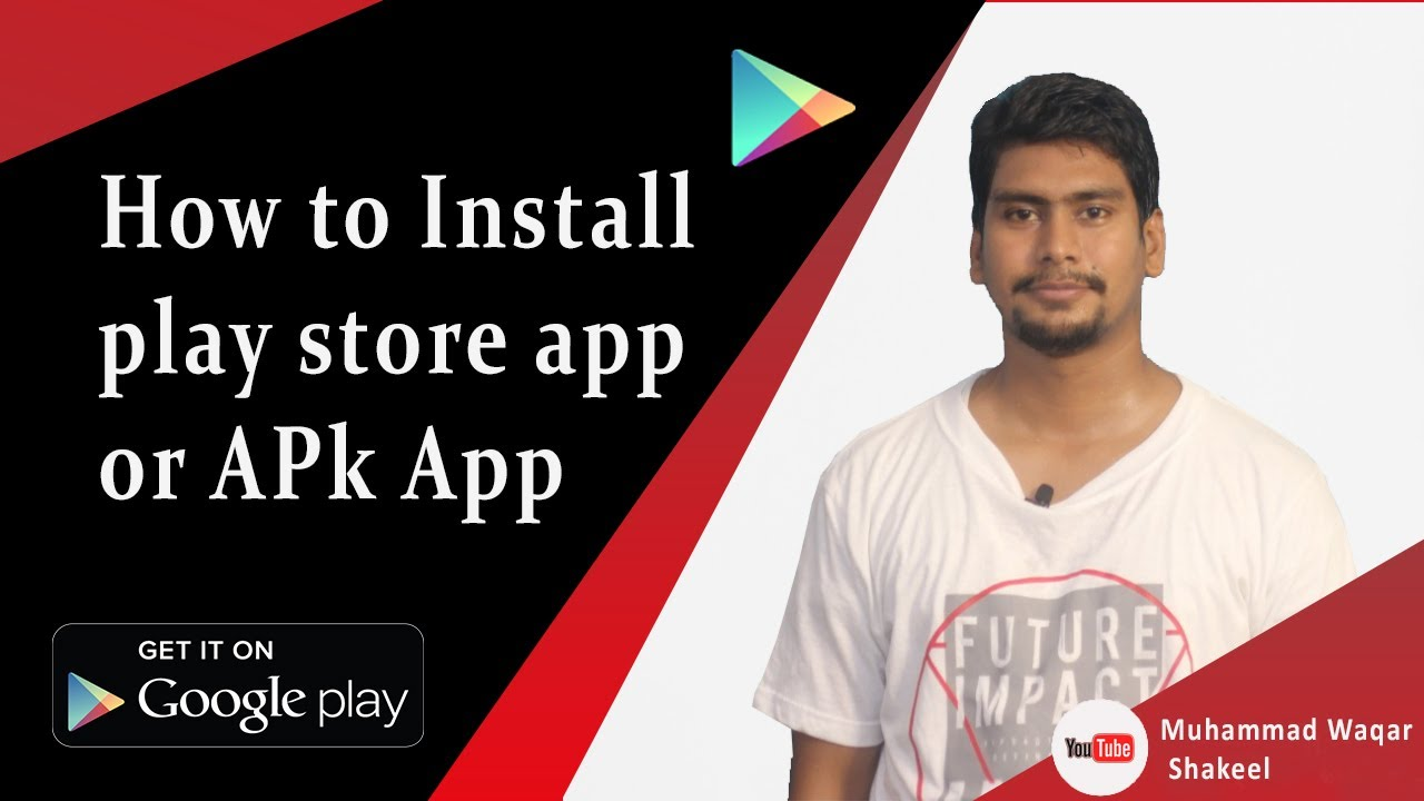How to Install play store app or APk App simple way Urdu / Hindi 2019  #Smartphone #Android