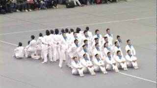 集団行動 group action 2011年 Japanese Precision Walking Competition