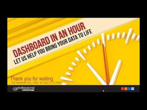 Power BI Dashboard in an hour webinar