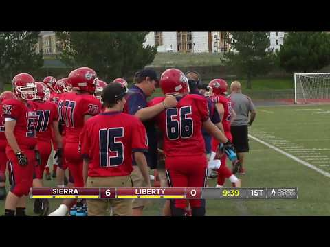 Liberty Lancers vs Sierra Stallions Football
