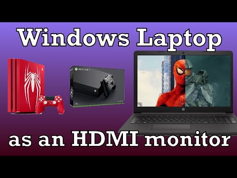 Use your Windows Laptop Display for almost any HDMI Device.