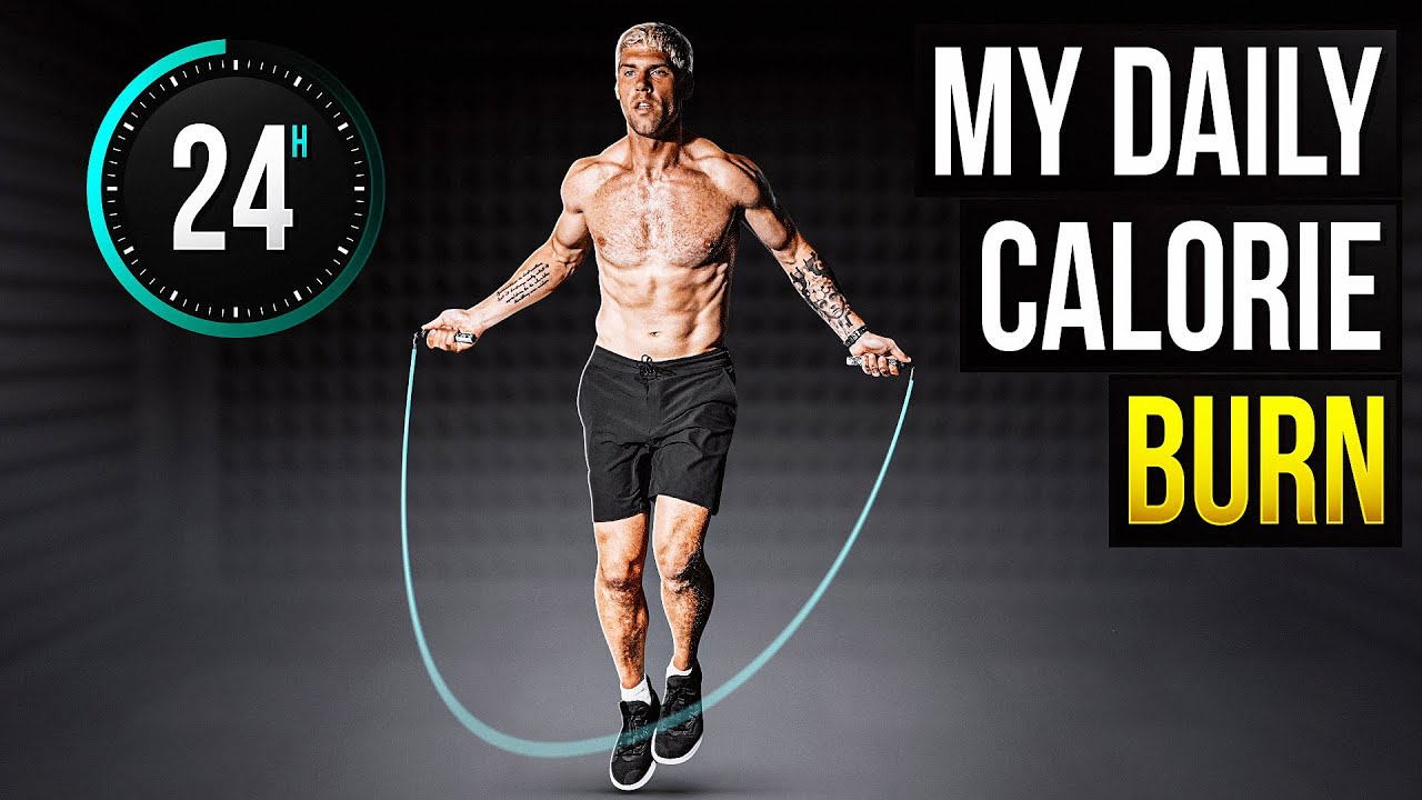 How Many Calories I Burn In One Day (24 Hrs Tracked)