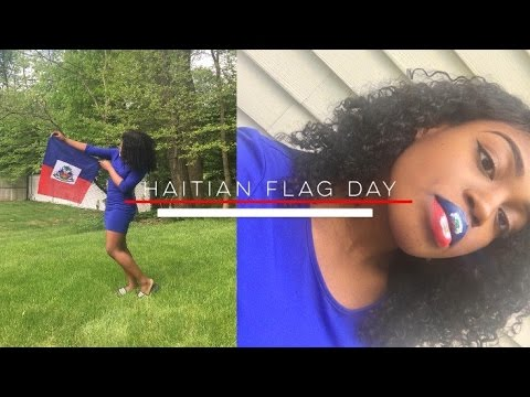 Haitian Flag Day Lip Tutorial | RAREDIAMONDZZ