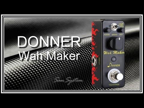 DONNER - Wah Maker ( Auto-Wah )