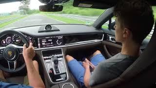 Porsche Panamera Sport Turismo ehybrid Nordschleife 8:14 min BTG