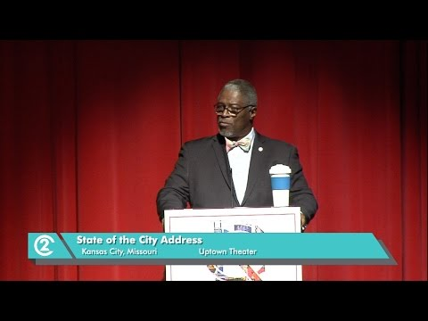 Kansas City, MO. 2016 State of the City Address from the Uptown Theater