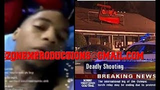 BREAKING NEWS Young Dolph artist key glock SHOT 3 times in Moneybagg yo hood,critical condition!