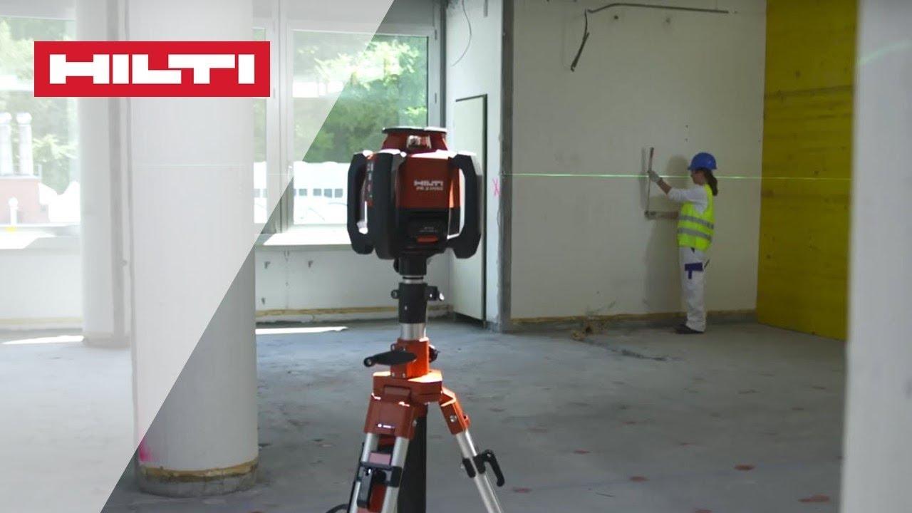 Introducing The Hilti Pr 3 Hvsg Rotating Laser Level