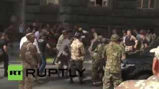 Ukraine: Gunshots, all hell breaks loose outside Verkhovna Rada