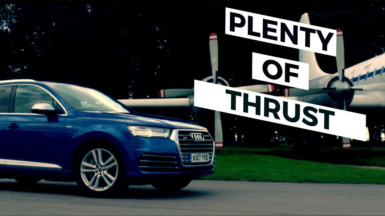 Audi SQ7, Lunatic SUV... gets the full work over.