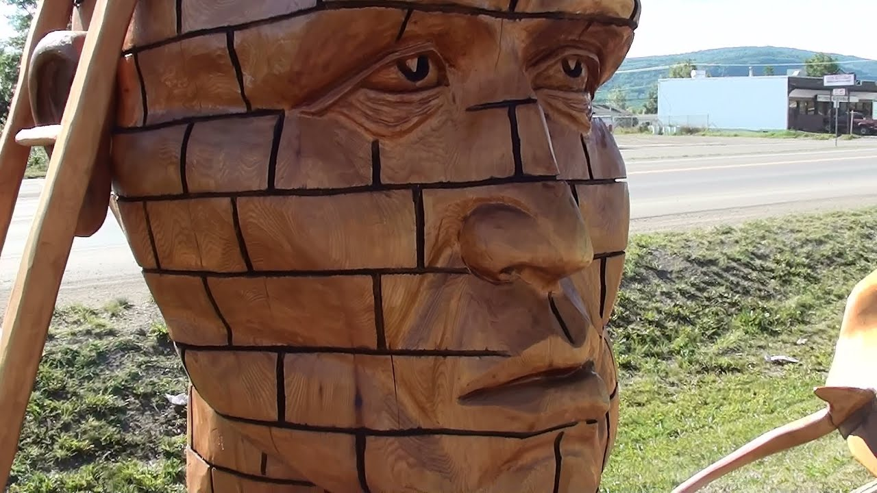 Chainsaw carvings youtube