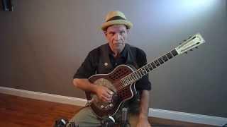 Steve James Bottleneck Slide Lesson Guitar Rag