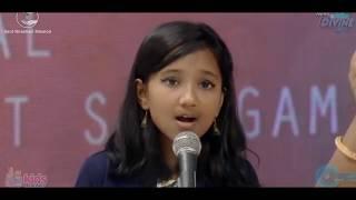 Anjali Gaikwad and Saathi    70th Nirankari Sant Samagam Day-2    (Sa Re Ga Ma Pa 2017 Winner)