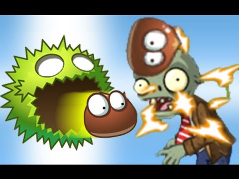 Plants Vs Zombies 2 El Extraño Poder del Escuadrón de la Castaña