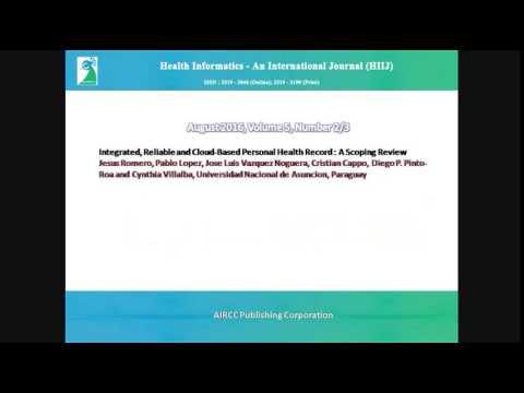 Health Informatics - An International Journal (HIIJ)