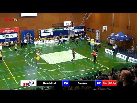 Swiss Cup -  Final 1/4: Neuchâtel vs. Genève