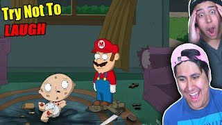 Try Not To Laugh! Family Guy Moments