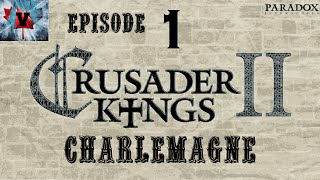Crusader kings 2, Charlemagne DLC: The rise of Karl Karling #1