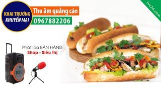 Thu âm quảng cáo Bánh mỳ que Tư Hải giá 10k