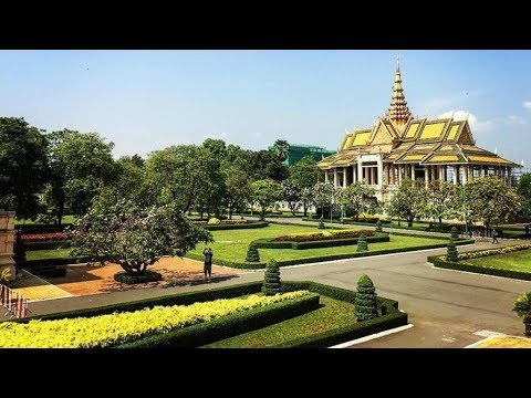 The Royal Palace Phnom Penh Cambodia 2018 - Home To The King Of Cambodia