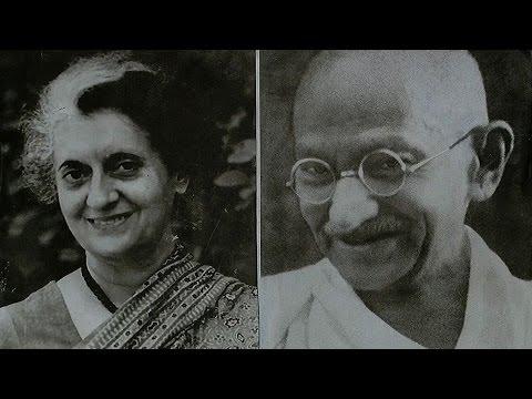 Image result for indira gandhi mahatma gandhi relationship