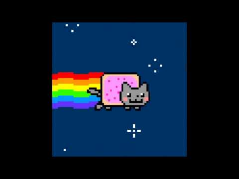 Nyan Cat 10 hours HD 1080p