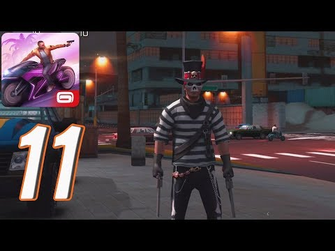 Gangstar Vegas - Gameplay Walkthrough part 10 - Wearin a Wire - Police Chase (iOS, android) - 동영상