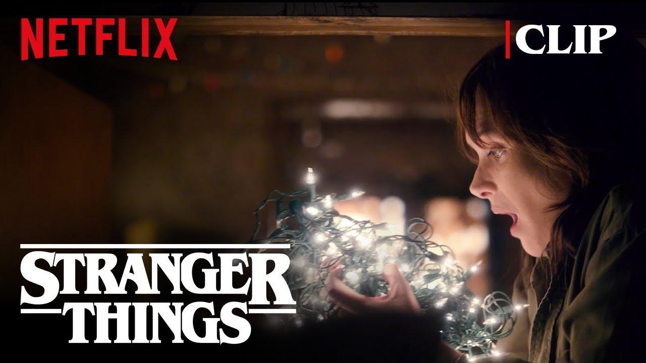 Download Joyce Christmas Lights Scene (Winona Ryder)   Stranger Things   Netflix