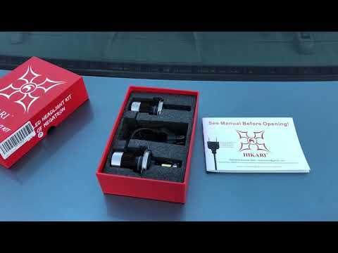 Hikari LED headlight kit