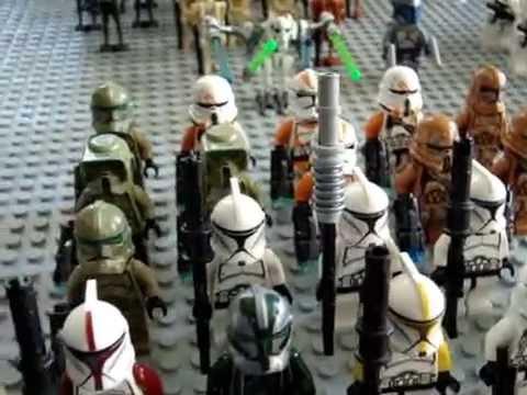 Моя коллекция Лего Звёздные войны 2016!!!