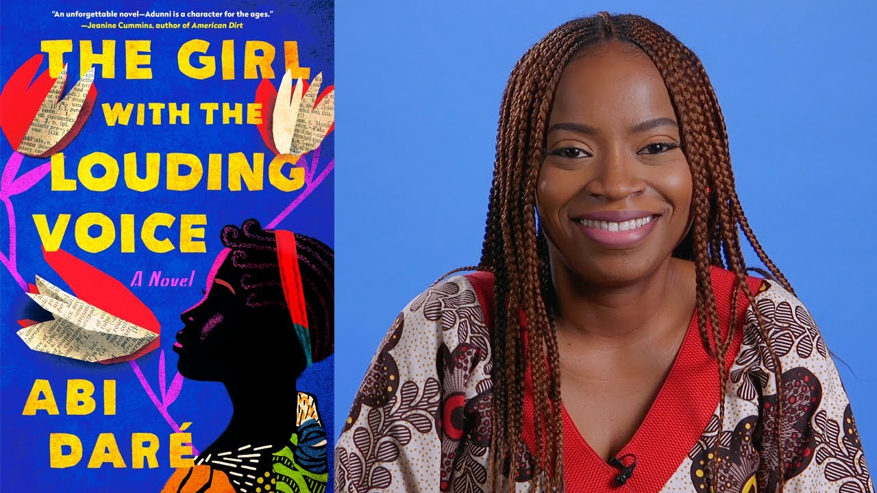Inside the Book: Abi Daré (THE GIRL WITH THE LOUDING VOICE) - YouTube
