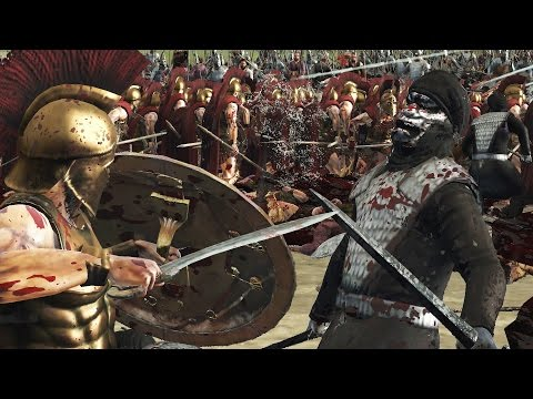 Легендарное сражение спартанцев с персами вошло в историю.