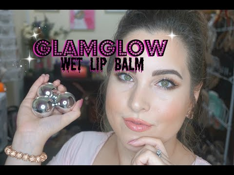 GLAMGLOW Poutmud Wet Lip Balm! 💦T.J. Maxx Find! Yay or Nay?! 🤔