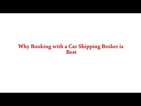 American Auto Shipping | Why Booking with a Car Shipping Broker is Best | 800-930-7417