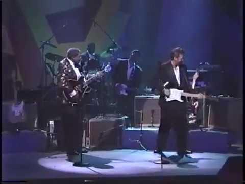 B.B. King & Eric Clapton/ Rock Me Baby - Apollo Theater 1993 Part 1