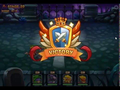 Mighty Knight 2 l All Boss Battles l All Heroes lvl 100 l All Rewards unlocked l no Hacks no Cheats